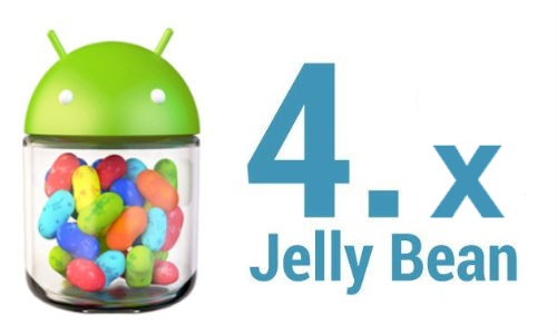 Android Jelly Bean per LG Optimus One P500